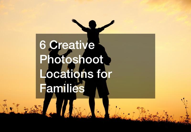 Creative fun family photos